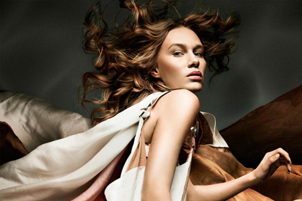 YULIA POPOVA na Vogue Italia