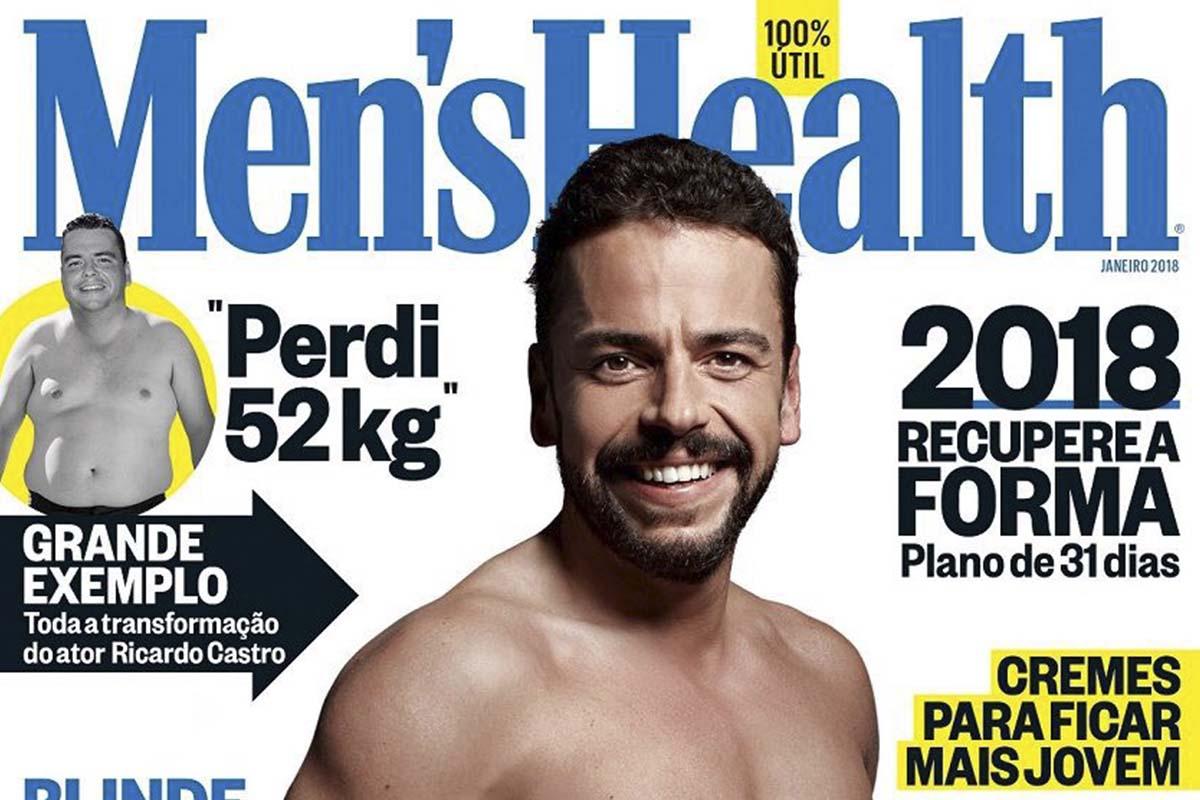 Ricardo Castro na Men's Health