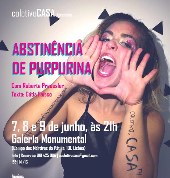 """Abstinência de purpurina"" comRoberta Preussler"