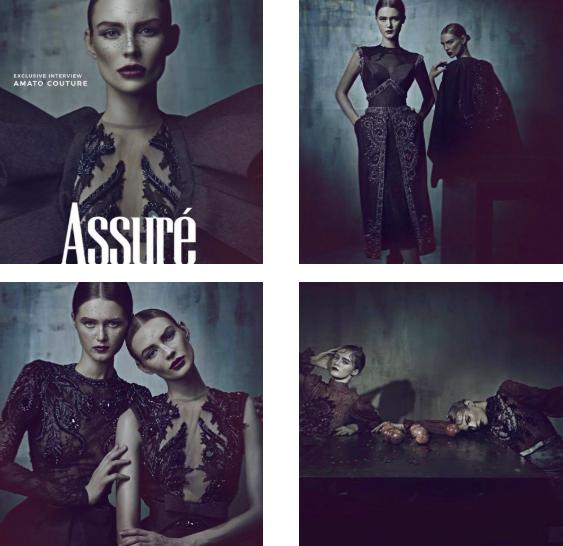 Karina Kukshtel cover Assure Magazine