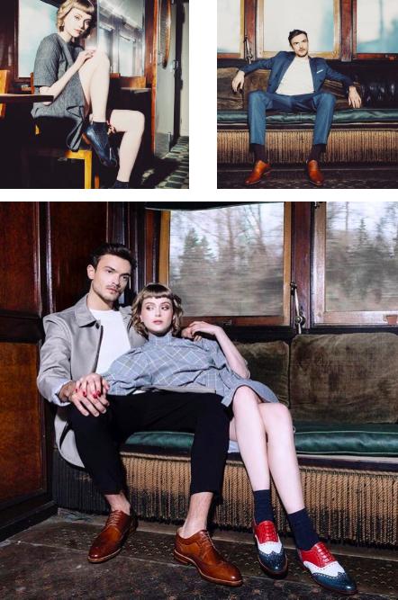 Jack Ilco & Emily Levy para Centenario Shoes