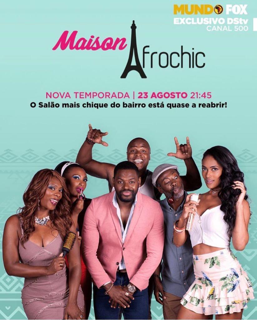 """Maison Afrochic"" com FredyCosta e Grace Mendes"