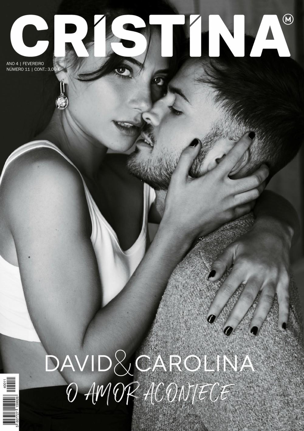 Revista Cristina celebra O Amor com a actriz BLAST Carolina Carvalho e David Carreira