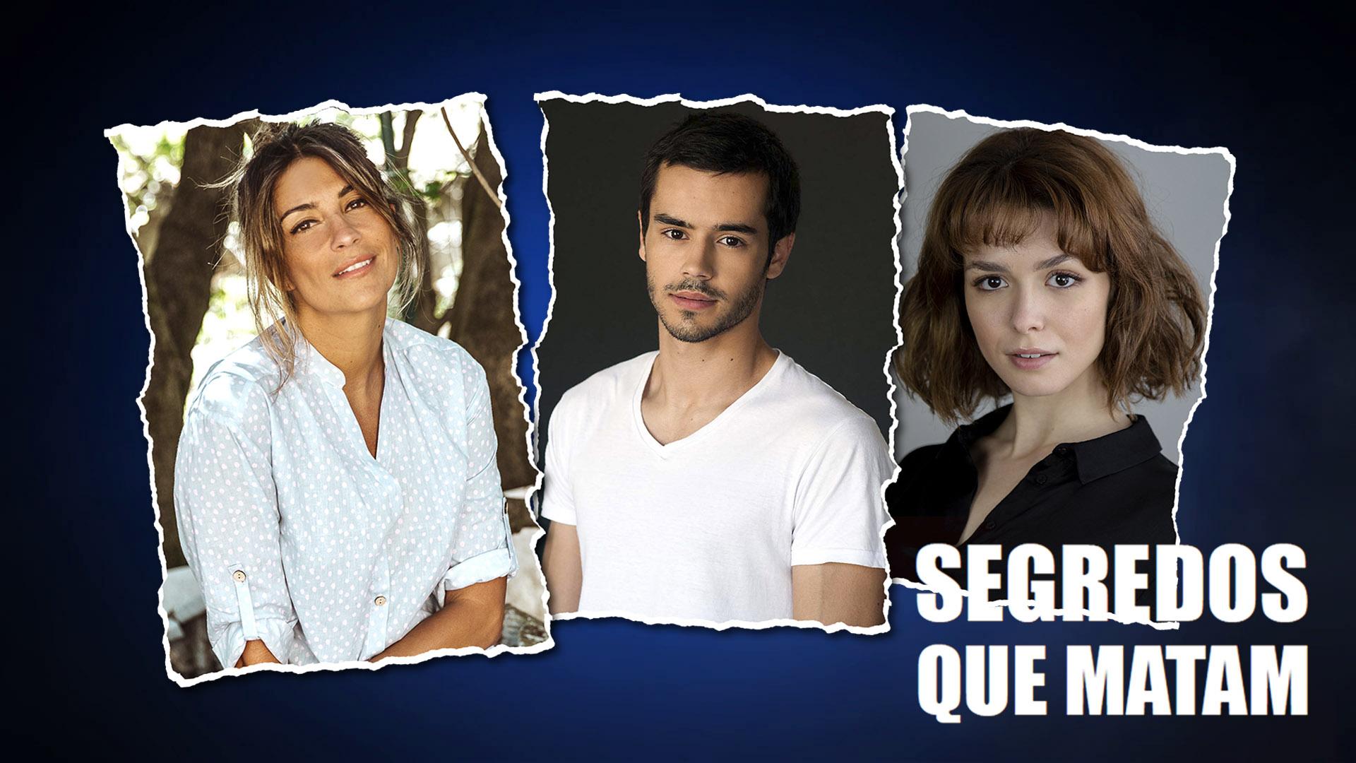 """Segredos que Matam"" com Isabel Figueira, Gonçalo Norton e Beatriz Barosa"