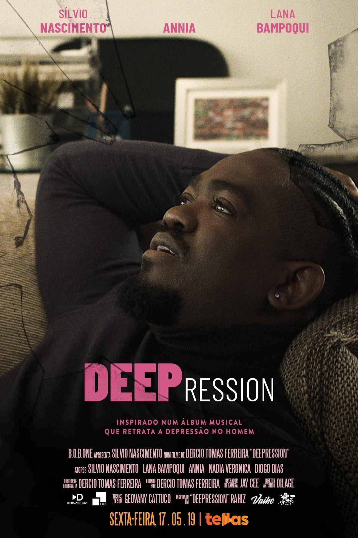 """""""Deepression"""" com Sílvio Nascimento"""